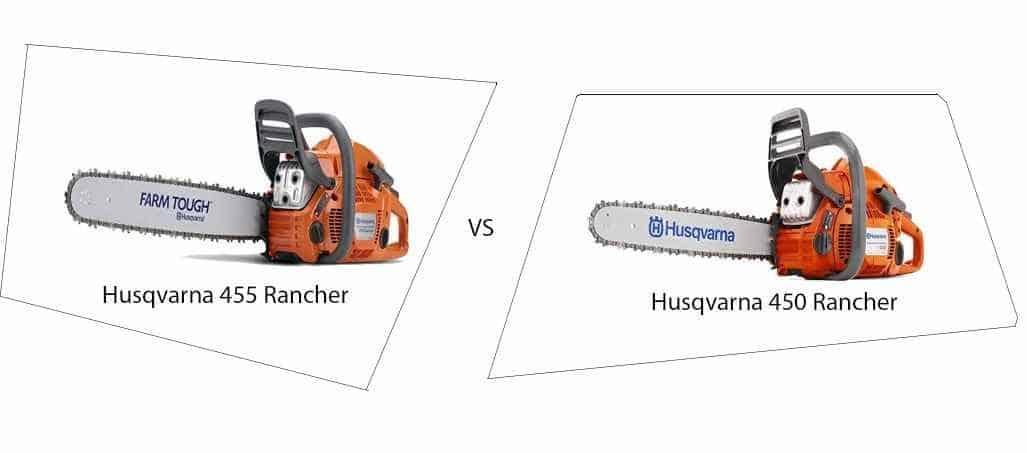 Husqvarna 455 vs Husqvarna 450